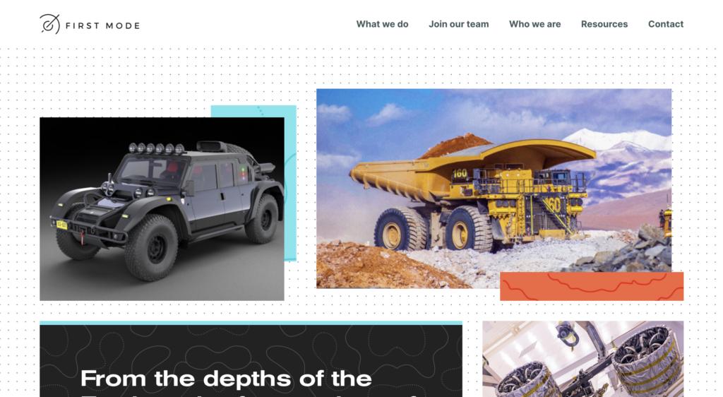First Mode New Website