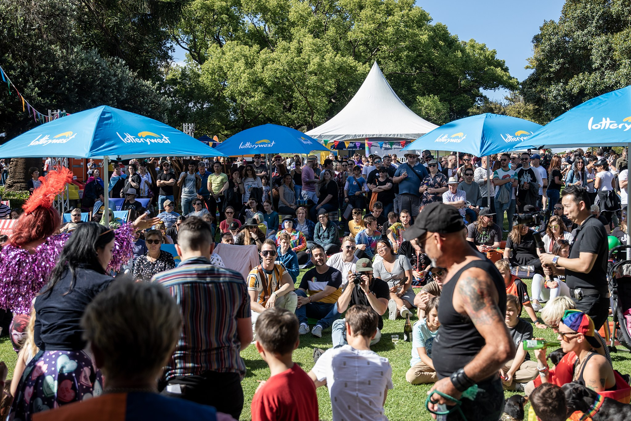PrideFEST 2021 Fairday Hyde Park Perth WA AUS